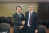Massimo Ghilardi & President of Nigboo CSI, China