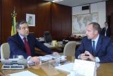 Brasilia, Dr. Sergio Tommasini e il Ministro dell'Agricoltura Dr. Mendes Ribeiro